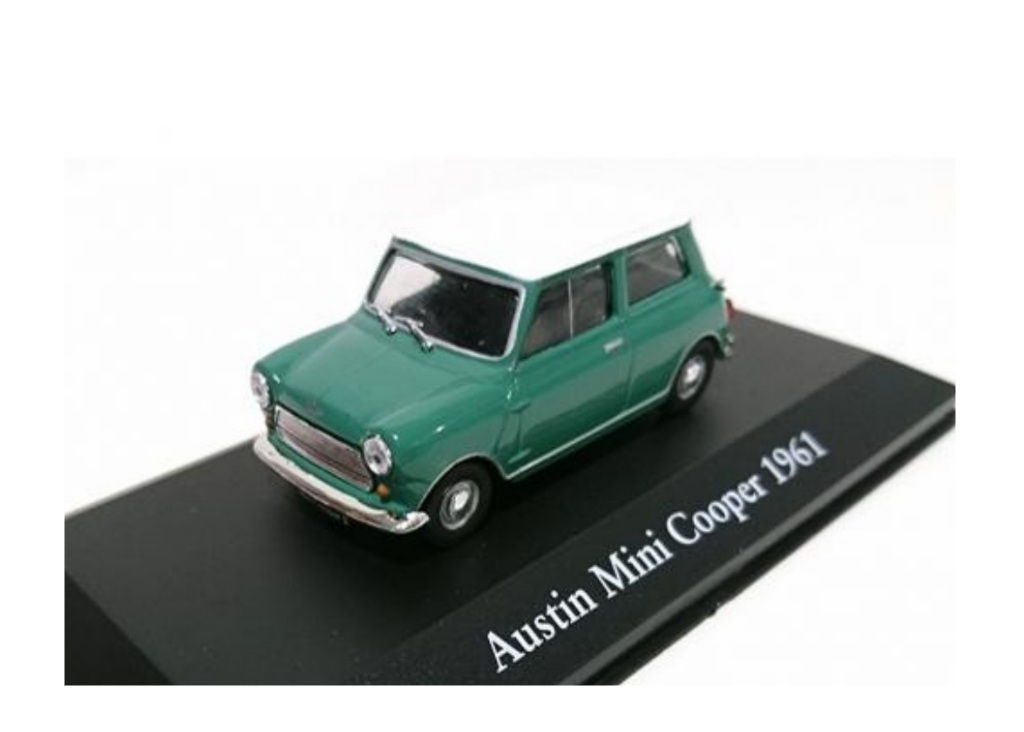 Atlas Austin Mini Cooper 1961 Die Cast Car Model Scale 1 43