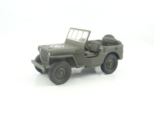 Jeep 1941 Willys MB 4×4 US Army Truck 1:34 Scale Diecast Metal Model Car Welly