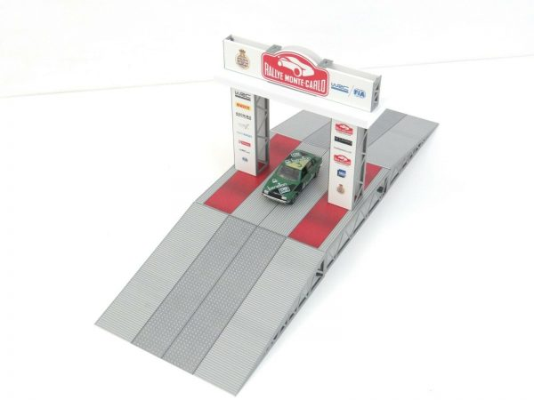 Rally Podium in Scale