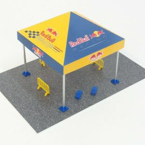 Rally Tent Diorama Model Kit Scale 1:43
