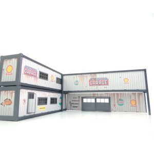 40 ft Containers Auto Service Garage