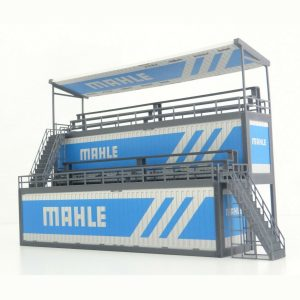 Diorama parts 40 ft Containers Tribune in Scale 1:43