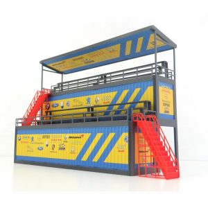 40 ft Containers Tribune for Car Models in Scale 1:43