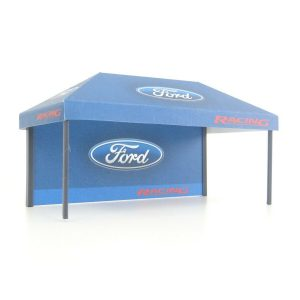 Rally Display Diorama Small Tent For Model Car 1:43