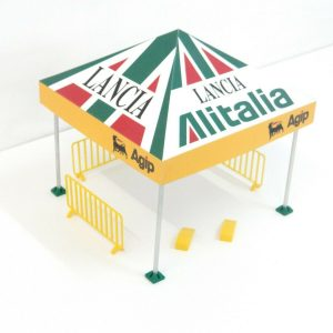 Rally Sponsor Tent Scale 1:24